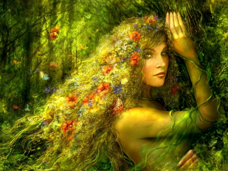 Fairy-in-the-forest-flower-hair-butterflies-fantasy-art-wallpaper-background-1920x1440